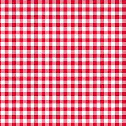 Amazon Com Disposable Red And White Gingham Paper Napkins Pack Of 50 Office Products