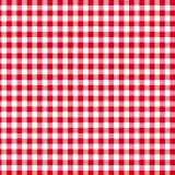 Disposable 3-Ply Party Napkins Paper, Red Plaid (Pack of 50)