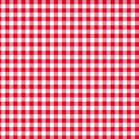 Disposable Red and White Gingham Paper Napkins (Pack of 50)]()