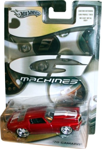 Hot Wheels G-Machines: Cherry Red with White Racing Stripes '70 Camaro Hot Wheels G Machines