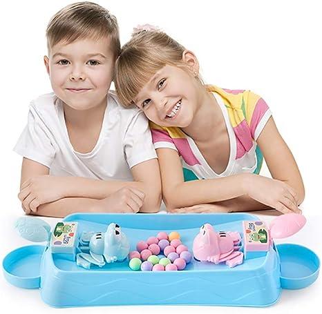 AMZ BCS Niños Crazy Gluttonous Frogs Juego de Mesa Niños Divertidos Juguetes Familia Juegos de Escritorio interactivos Regalo (Juego para Dos Jugadores): Amazon.es: Deportes y aire libre