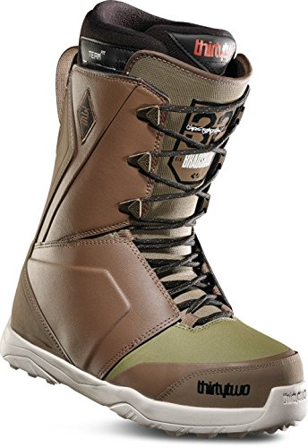 thirtytwo Lashed Bradshaw '18 Snowboard Boots, Brown/Green, 11 -