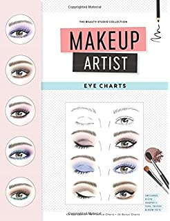 Makeup artist face charts the beauty studio collection gina m makeup artist eye charts the beauty studio collection ccuart Choice Image