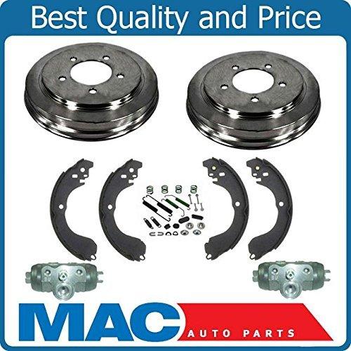 Mac Auto Parts 143944 Rear Brake Drums Shoes Spring Kit Wheel Cylinder Sebring Avenger Caliber (Chrysler Sebring Wheel Cylinder)