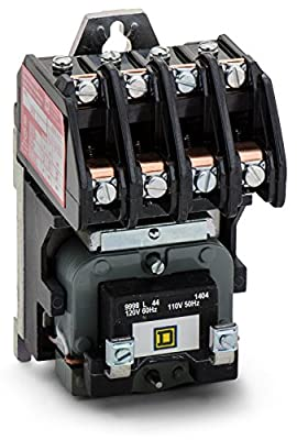 Schneider Electric 8903LO40V02 Multipole Lighting Contactor 30 Amp Electrically Held 4-Pole