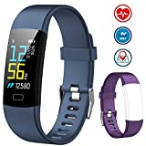 Fitness Tracker AIMIUVEI Activity Tracker Color Screen, Heart Rate Monitor Sleep Monitor IP