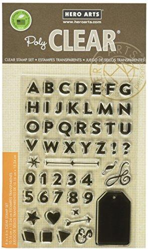 Hero Arts Bold Letter Set Design Stamp ()