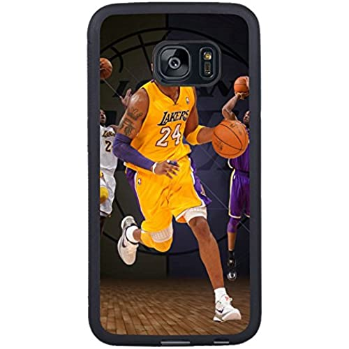 Samsung Galaxy S7 Edge Kobe Bryant Los Angeles 24 Black Shell Case,Newest Design Sales