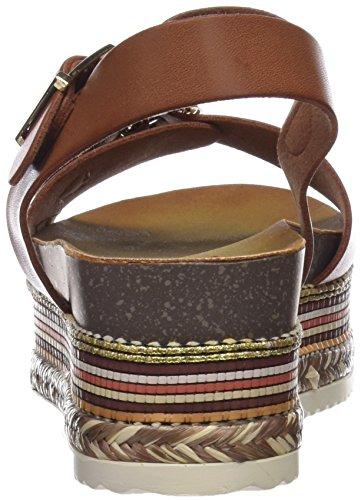 camel Sandalias Camel Plataforma 64399 Mujer Refresh Con Marrón Para 5U07Rxqa
