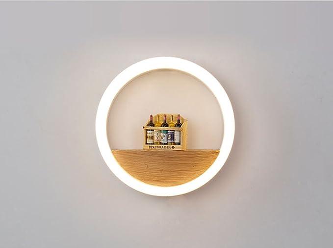 Comò Camera Da Letto Dimensioni : Lytsm lampada da parete led rotondo moderna semplicità