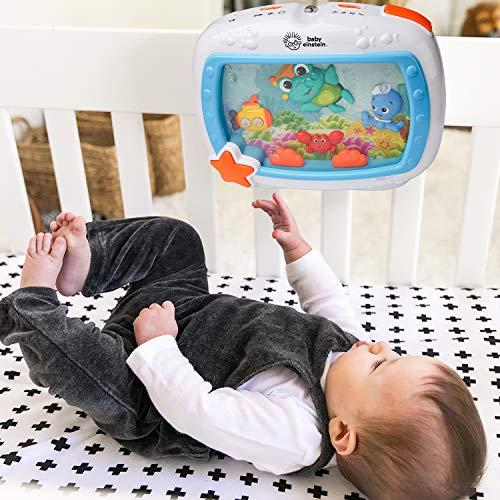 Baby Einstein Sea Dreams Soother Musical Crib Toy and Sound Machine, Newborns +