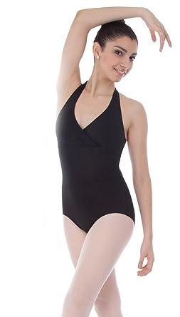 da09247fedf Amazon.com  Body Wrappers Premiere Series P462 Halter Leotard  Clothing