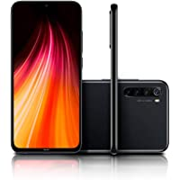 Smartphone Xiaomi Redmi Note 8 4GB Ram Tela 6.3 64GB Camera Quad 48+8+2+2MP - Preto
