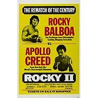 Rocky 2 Poster Película 11x17 Sylvester Stallone Talia Shire Burt Young Burgess Meredith