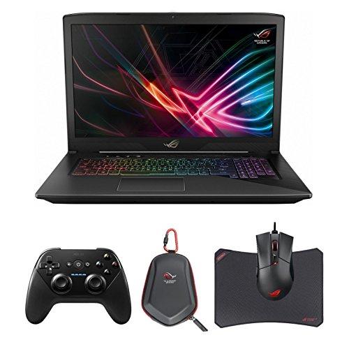 "Price comparison product image ASUS ROG STRIX GL703VM-WB71 Enthusiast (i7-7700HQ, 16GB RAM, 500GB NVMe SSD + 1TB SSHD, NVIDIA GTX 1060 6GB, 17.3"" Full HD 120Hz, Windows 10) VR Ready Gaming Notebook"