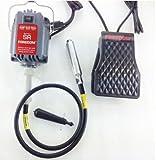 TOPCHANCES 220V 230W FOREDOM SR Hanging Flexshaft Mill Jewelry Design&Repair Tools 4mm (Red)