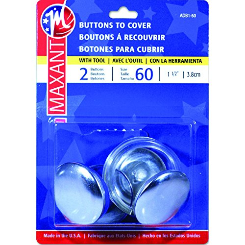 Maxant Button Cover Button Kit-Size 60 1-1/2