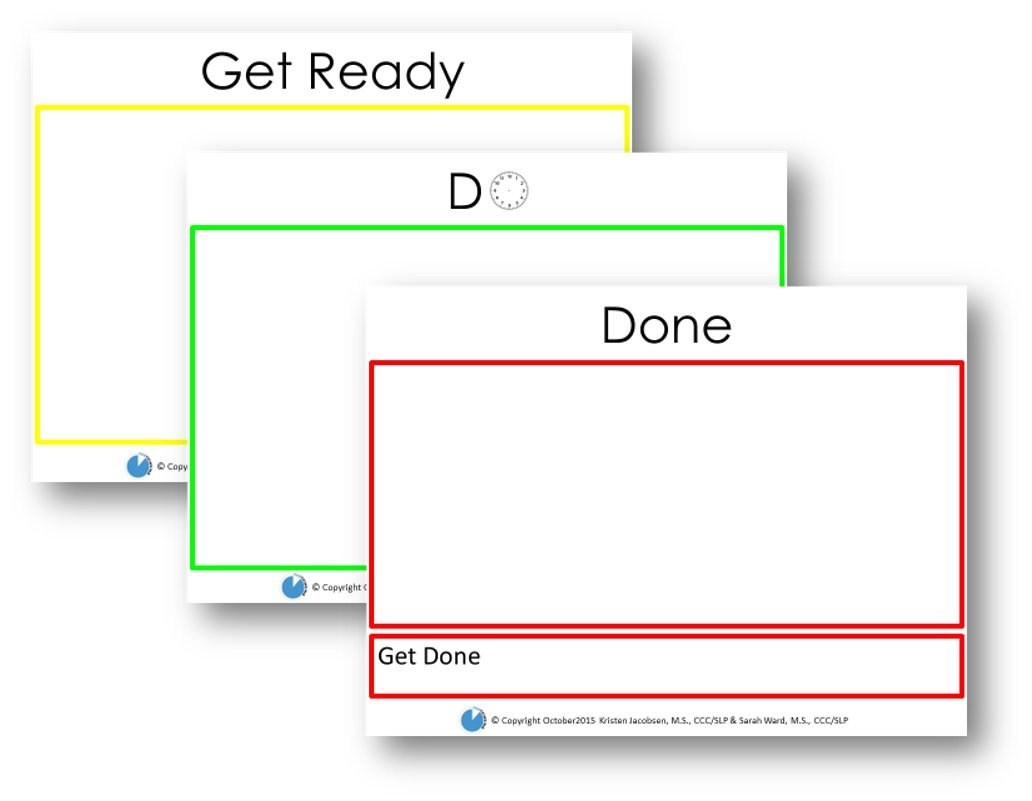 Get Ready Do Done Paper Planning Pads