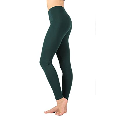 12 Ami Premium Cotton Soft Full Length Ankle Leggings