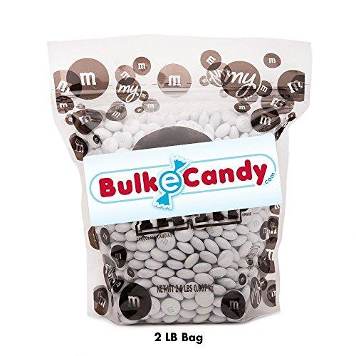 (MY M&M'S White M&M'S Bulk Candy Bag (2lb))