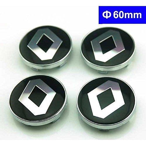 4pcs W173 60mm Car Styling Accessories Emblem Badge Sticker Wheel Hub Caps Centre Cover Renault Megane Clio Laguna Koleos
