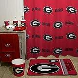 NCAA University of Georgia Decorative Bath Collection - Shower Curtain