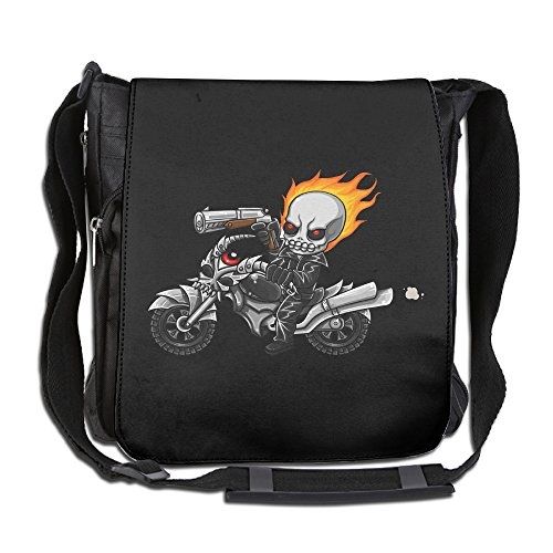 CMCGH Ghost Rider Poster Messenger Bag Traveling Briefcase Shoulder Bag For Adult Travel And Business Trip