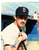 MIKE GREENWELL HOLDING BAT BOSTON RED SOX SIGNED AUTOGRAPHED 8X10 PHOTO