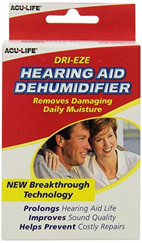 Acu-Life Dri-Eze Hearing Aid Dehumidifier 1 EA - Buy Packs and SAVE (Pack of 2)