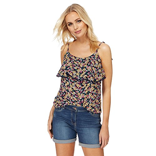 The Collection Damen T-Shirt mehrfarbig multi