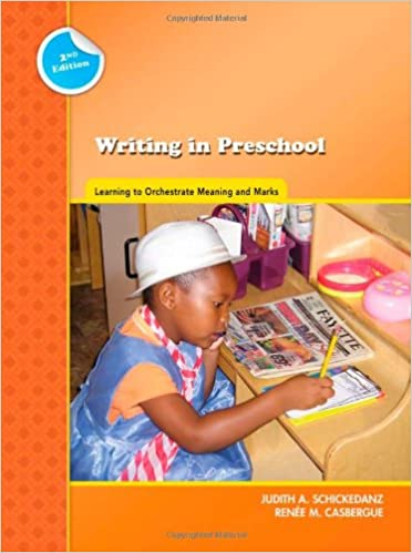 Amazon.com: Writing in Preschool: Learning to Orchestrate Meaning ...
