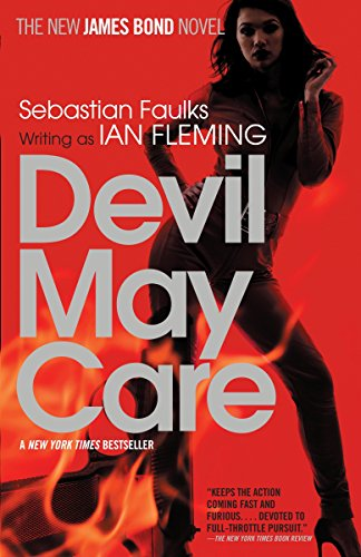 Book cover from Devil May Care by Sebastian Faulks