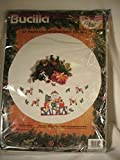 Bucilla Counted Cross Stitch Kit Christmas Tree Skirt Armful of Joy