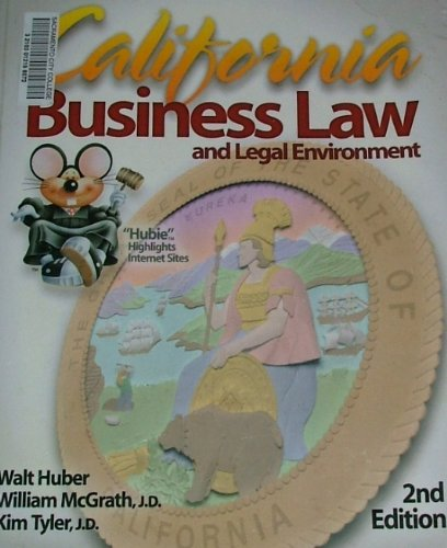 California Business Law and Legal Environment