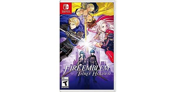 Amazon Com Fire Emblem Three Houses Nintendo Switch Nintendo Of