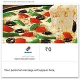 Dominos Pizza- Instant Voucher