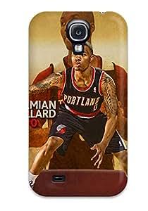 Fashionable UxAYQic1459FDabf Galaxy S4 Case Cover For Portland Trail Blazers Nba Basketball (13) Protective Case