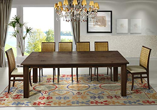 "Artefama Furniture Flora 95"" Dining Table - Square Legs"