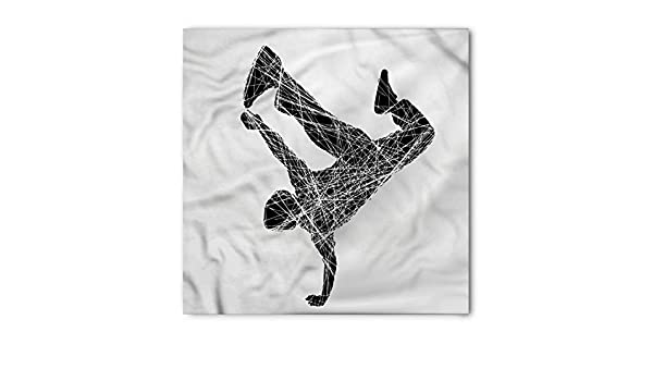 Rapper Bandana, Breakdancer on Hand Glide, Unisex Head and ...