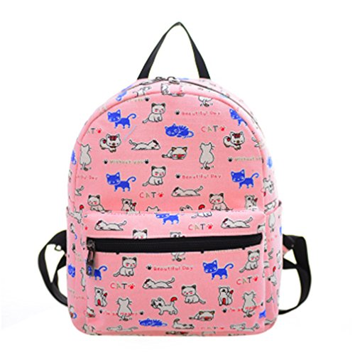 Female Korean Version The Canvas Female Backpack Mini Small Backpack Mummy Multifunction Travel Bags 14