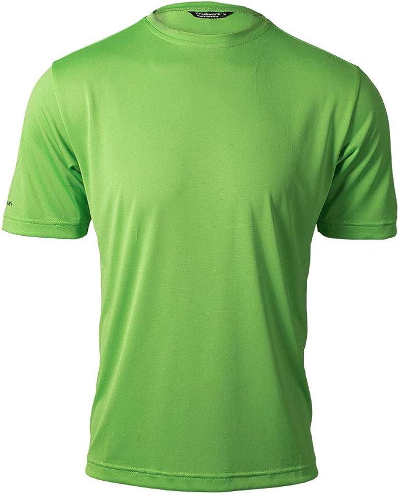 TRUEWERK Men's Work T-Shirt - T.5 WerkTee Short Sleeve Enhanced Visibility Tee