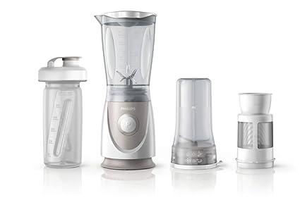 Philips Daily HR2874/00 - Batidora americana de vaso, 350 W, jarra 0.6