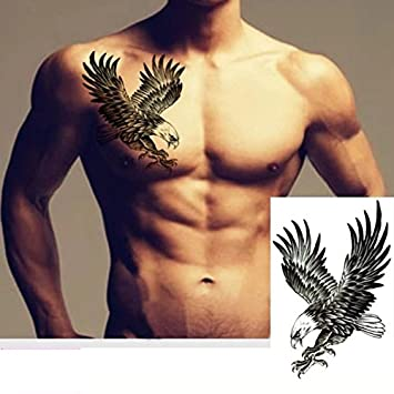 Tattoo Temporär Arm Oberarm Tattoo Aufkleber Adler Auch Für Köper