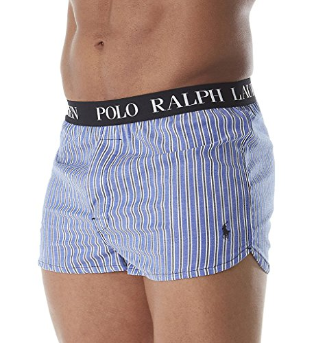 Polo Ralph Lauren Vintage Cotton Stretch Woven Boxer (L214RL) L/Cobalt - Online Outlet Ralph Lauren