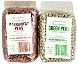 Hollandia Brand Peas Bundle, Imported From the Netherlands - with 1 Lb. Extra Selected Green Peas (Groene Erwten) and 1 Lb. Extra Selected Marrowfat Peas (Kapucyners)
