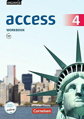 English G Access - Allgemeine Ausgabe / Band 4: 8. Schuljahr - Workbook mit Audios online