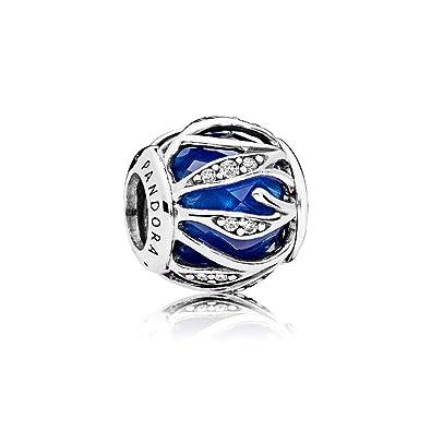 0c421ade8 Pandora Leaf Shine Royal Blue Charm 791969NCB: Pandora: Amazon.co.uk:  Jewellery