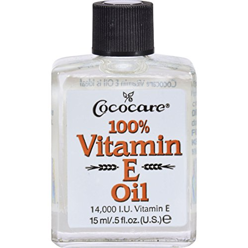 Cococare Vitamin E Oil - 14000 IU - Antioxidant - Repair Skin - 0.5 fl oz (Pack of 2)