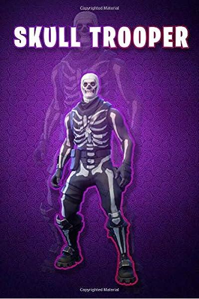 Fortnite : skin skull trooper: lined notebook Fortnite : skin ...