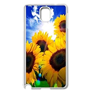 Yo-Lin case FXYL259476Sunflowers pattern protective case cover For Samsung Galaxy NOTE4 Case Cover